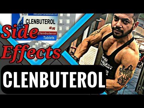 clenbuterol side effects