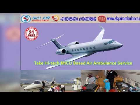 Receive Sky Air Ambulance Service in Siliguri with Proficient Medical Facility.