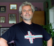 Potential finno-ugric flag on my T-shirt.