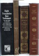 Commentaries, Sermons, and New Testament Translations.