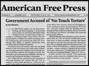 NO-TOUCH TORTURE (GOVERNMENT ACCUSED)