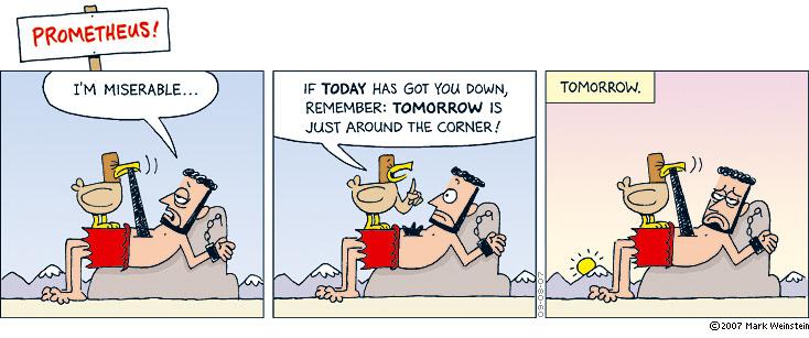 Prometheus: Tomorrow