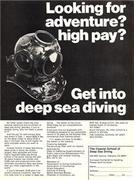 1979 Coastal School of Deep Sea Diving Ad