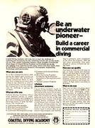 1979 Coastal Diving Academy Ad