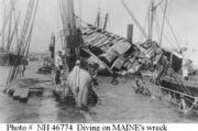 USS Maine & Navy Divers