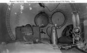 USS Walke Decompression Equipment