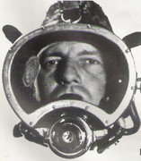 Ocean Systems Mask, introduced in 1964