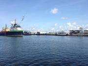 in port