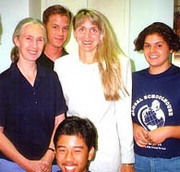Dr. Jane Goodall and Global Schoolhouse Students