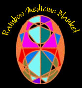 Rainbow Medicine Blanket