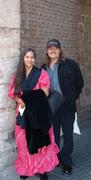 My wife and I in Akka, Israel