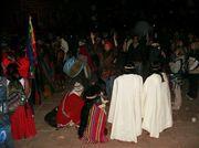 Bolivia town of Tiwanacu