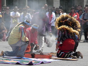 Sacred Ceremony For Third Round Intention Crystals For Island Of The Sun In Lake Titicaca