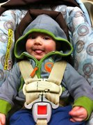 My first great grandchild, Thor
