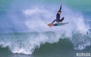 Luke flying high