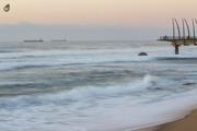 Mornings at Umhlanga Main beach