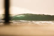 Recent weekend swell in Durban, Cave Rock