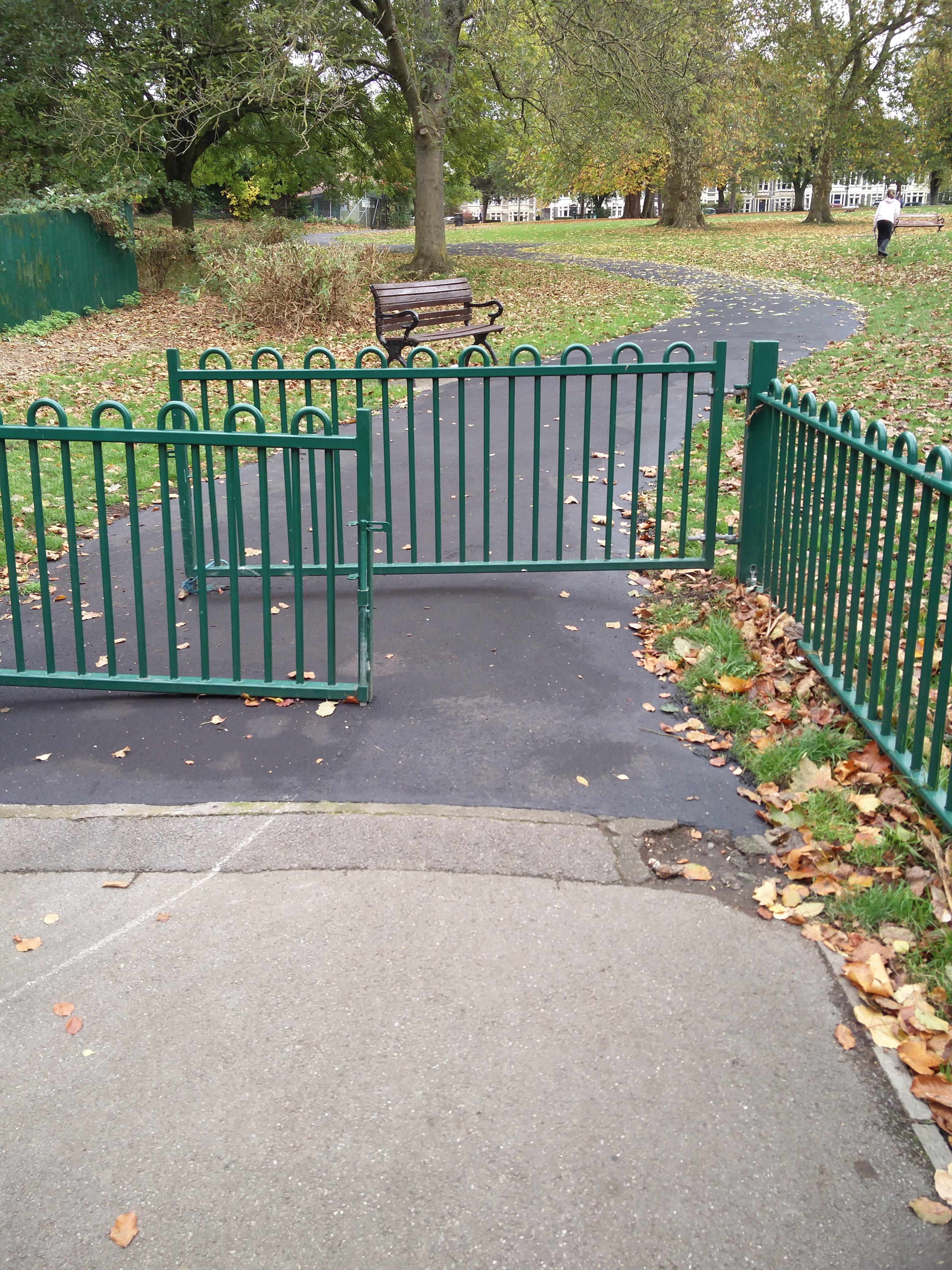 Park paths resurfaced 2018