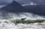 A bit of surf with the promise of rain