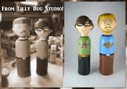 Rhett & Link in my studio