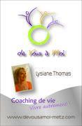carte VISITE verso lysiane coach