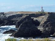 Belle Ile, le phare du Poulin