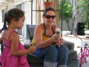 Me and my daughter Grace Hope Indigo J.