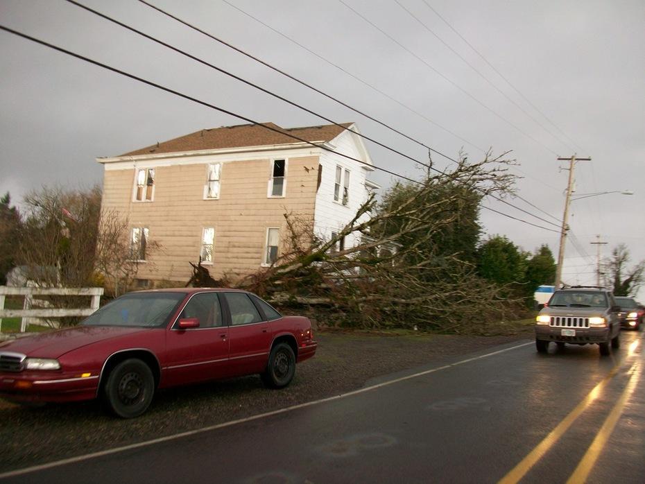F2 Tornado hits my little town!