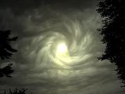 Golden Vortex in the Sky