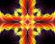 Fractal Flame Cross