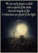 fear of light