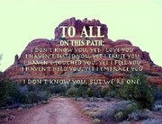 To All On The Path