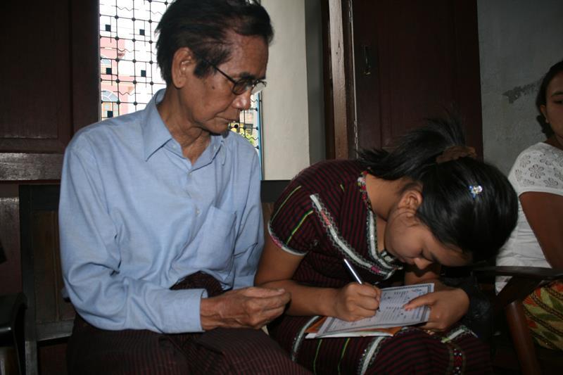 Pu Cin Sian Thang leh a Zi Kik