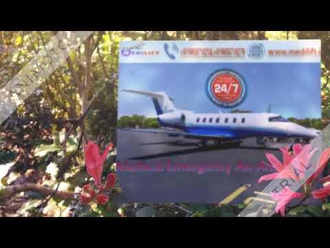 Hire Hi-Tech Air Ambulance in Delhi with ICU Facility