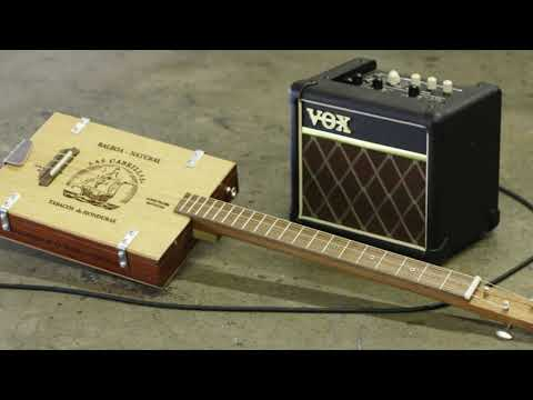 - 1930's style vintage recording on 3 string guitar -