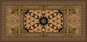 My tapestry photoshop rug, made from antique painting.