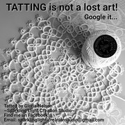 Tatting is not a lost art!
