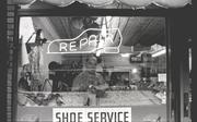 """""""Shoe Repair"""", Paterson, N.J. 1968"""