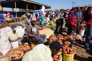 Men participating in Agriculture Markets