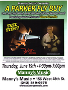 Manny's Parker Guitar Clinic 2