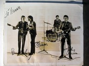 The Beatles signed by John, Paul, Ringo and George