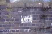 Helmdon Label on Bridge 138