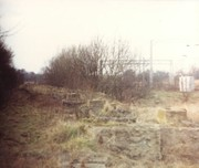 Blisworth Platform remains
