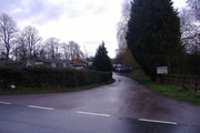 Helmdon from access road