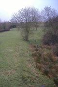 Helmdon track bed  - toward Banbury