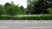 Original boundary next to Towcester signal box location