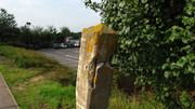 That ' said post' at Towcester station site