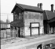 Original signalbox at Stratford SMJ