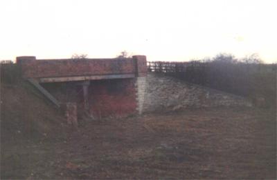 Towcester station side