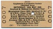 SLS SMJ Tour 14th May 1960